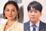 (左から)米倉涼子、安住紳一郎アナ (C)ORICON NewS inc.