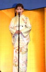 【京都国際映画祭】倉科カナ、艶やかな着物姿でアンバサダー 京都の人の印象は「慎ましい」