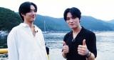『韓流イケキュン!トラベル』に出演する(左から)TAKUYA、ジェジュン(C)ABCの画像