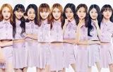 『Girls Planet 999』第3回生存者発表式でのTOP9(C)CJ ENM Co., Ltd, All Rights Reservedの画像
