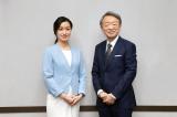 (左から)大江麻理子キャスター、池上彰氏の画像