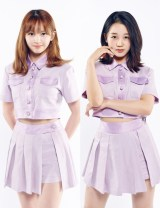『Girls Planet 999 :少女祭典』でデビューが決まった日本勢(左から)坂本舞白、江崎ひかる(C)CJ ENM Co., Ltd, All Rights Reservedの画像