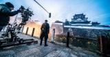 大阪・岸和田城で撮影したシーン(メイキング)=映画『G.I.ジョー:漆黒のスネークアイズ』(公開中)の画像