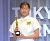『東京ドラマアウォード2021』授賞式に出席した綾瀬はるか (C)ORICON NewS inc.の画像